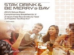 Stay, Drink and Be Merry at Bay Hotel Singapore from SGD238