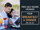 Enjoy Complimentary Breakfast and Dinner in Participating Centara Properties