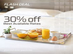 Flash Deal at 30% Off Best Available Rate in Bay Hotel Singapore