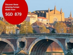 Exclusive Economy Promotion to Europe from SGD879 with Swiss Airlines