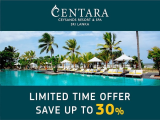Save Save Up to 30% in Centara Ceysands Resort & Spa Bentota