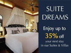 Up to 35% Savings on your Next Suite and Villa Stay in Centara Grand Beach Resort & Villas Hua Hin