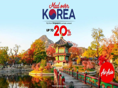 Mad Over Korea | Fly with AirAsia at 20% Off now!