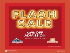Puteri Harbour Flash Sale | Get 50% Off Admission Pass to Sanrio Hello Kitty Town and Thomas Town