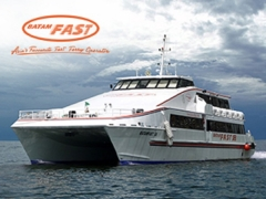 20% off the Ticket Fare in Batam Fast Ferry with OCBC Card