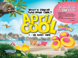 April Cool - 2D1N Room Package With Theme Park in Sunway Lost World of Tambun