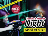 Family and Friends Night Laser Battle in KidZania Kuala Lumpur from RM35