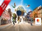 Mastercard® Exclusive: Universal Studios Singapore Adult One-Day Ticket + SGD5 Meal Voucher + SGD5 Retail Voucher at SGD76 (Save 11%)