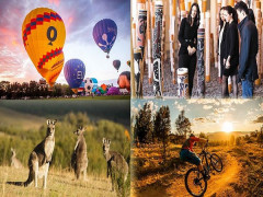 Explore Canberra with Singapore Airlines from SGD498