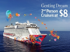 Genting Dream's Great Singapore Sail
