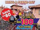 Bring A Friend At RM100 n Sunway Lagoon