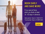 Book Early and Save More with Thai Airways