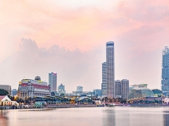 Weekend Bed and Breakfast with Complimentary Breakfast for 2 in Swissotel The Stamford