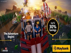 Book now and Save 30% on your Entrance Tickets to LEGOLAND® Malaysia with Maybank