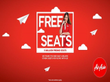 FREE SEATS in 5 Million Promo Seats Sale with AirAsia