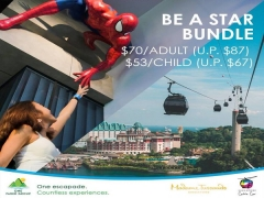 Be A Star Bundle with Up to 20% Savings in Madame Tusaauds and One Faber Group Promotion