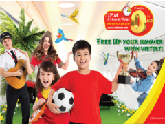 Fly to Vietnam from SGD $0 with Vietjet this Summer