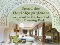 Spend Hari Raya Puasa in Hotel Fort Canning