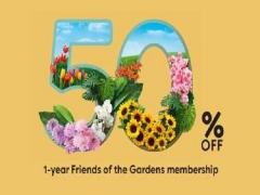 50% Off 1-Year Friends of the Garden Membership in Gardens by the Bay