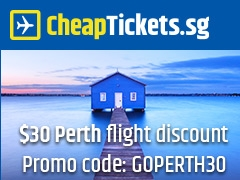 $30 Perth Flight Discount with Promo Code: GOPERTH30