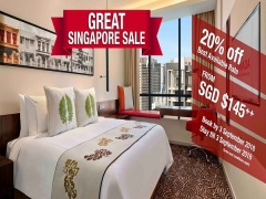 The Great Singapore Sale Offer in Ramada Singapore at Zhongshan Park