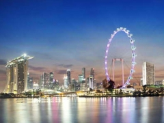 A Celebration with Meal for Dad in Singapore Flyer