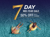 Dusit 7-Day Mid-Year Sale with 50% off Hotel Bookings