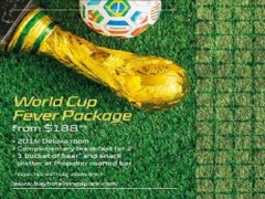 World Cup Fever Package in Bay Hotel Singapore from SGD188