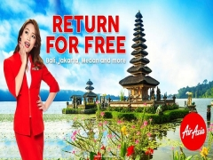 Return for FREE to Indonesia with AirAsia