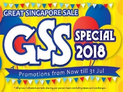 Great Singapore Sale Season again with JTB!