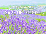 Japan 5 Day Sale in Hotels.com with up to 30% Savings