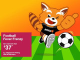 Football Fever Frenzy. Book your Flight from SGD37 with Jetstar