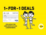 1-FOR-1 Deals in Scoot Exclusive for UOB Cardholders