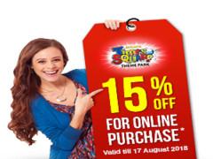 15% Off Berjaya Times Square Theme Park Tickets via Online Purchase