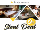 Steal Deal Room Promotion in Le Grandeur Palm Resort Johor from RM180
