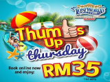 Thumbs-up Thursday in Sunway Lost World of Tambun