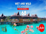 Wet and Wild Escapades with AirAsia from SGD68