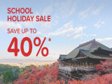 School Holiday Sale in Hotels.com with Up to 40% Savings