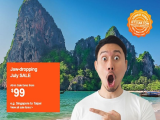 Jaw-dropping July Sale in Jetstar with Fares from SGD50