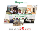 Up to 50% Off Hotel Deals with Compass Hospitality