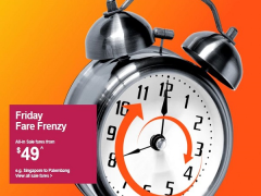 Friday Fare Frenzy in Jetstar is Up Again with Flights from SGD49