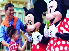 Get a Complimentary HKD50 Merchandise Gift Voucher with Ticket Offers in Disneyland with Standard Chartered