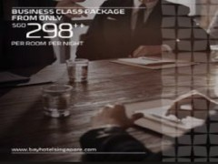 Business Class Package in Bay Hotel Singapore from SGD298