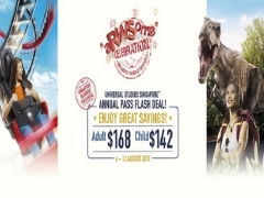 Universal Studios Singapore™ Annual Pass Flash Deal