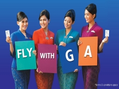 Visit Indonesia Travel Fair with Garuda from SGD244