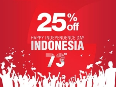 Happy Independence Day Indonesia - Enjoy up to 25% Savings in Swiss-belhotel Participating Properties