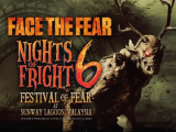 Festival of Fear in Sunway Lagoon - Early Bird Special at RM52