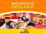 FLASH DEAL | 2nd Night at 50% Off in Legoland Malaysia Hotel