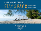 Stay 3 Pay 2 in Trat with Centara Hotels & Properties