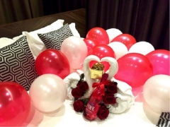 Romantic Decoration Package in Room at Hotel Yan Singapore
